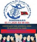 Convocação para a Assembleia Geral de Aclamação da Chapa