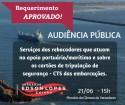Audiência Publica dia 21/06/2018